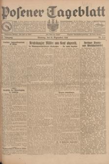 Posener Tageblatt. Jg.67, Nr. 214 (18 September 1928) + dod.
