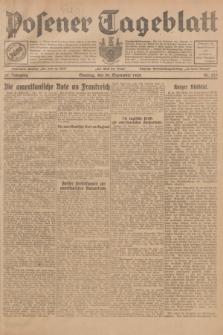 Posener Tageblatt. Jg.67, Nr. 225 (30 September 1928) + dod.