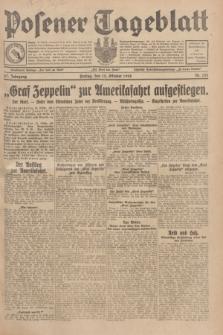 Posener Tageblatt. Jg.67, Nr. 235 (12 Oktober 1928) + dod.