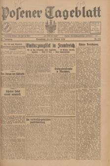 Posener Tageblatt. Jg.67, Nr. 242 (20 Oktober 1928) + dod.