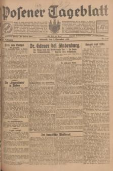 Posener Tageblatt. Jg.67, Nr. 256 (7 November 1928) + dod.