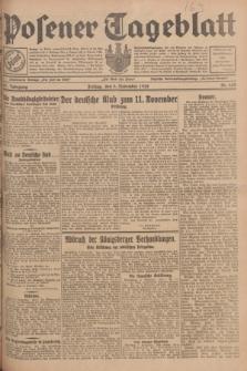 Posener Tageblatt. Jg.67, Nr. 258 (9 November 1928) + dod.