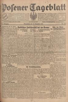 Posener Tageblatt. Jg.67, Nr. 259 (10 November 1928) + dod.