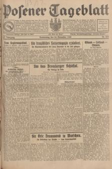Posener Tageblatt. Jg.67, Nr. 269 (22 November 1928) + dod.
