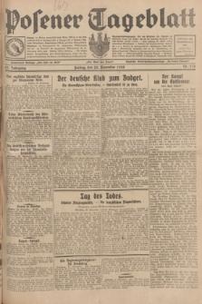 Posener Tageblatt. Jg.67, Nr. 270 (23 November 1928) + dod.