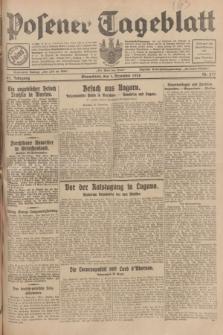 Posener Tageblatt. Jg.67, Nr. 277 (1 Dezember 1928) + dod.