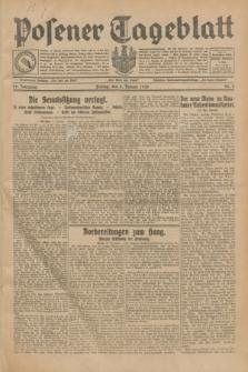 Posener Tageblatt. Jg.69, Nr. 2 (3 Januar 1930) + dod.