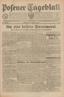Posener Tageblatt. Jg.69, Nr. 35 (12 Februar 1930) + dod.