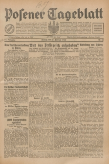 Posener Tageblatt. Jg.69, Nr. 43 (21 Februar 1930) + dod.