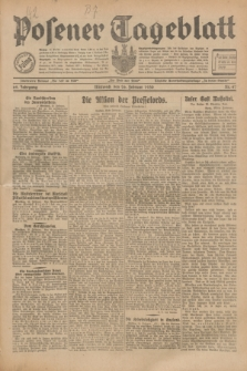 Posener Tageblatt. Jg.69, Nr. 47 (26 Februar 1930) + dod.