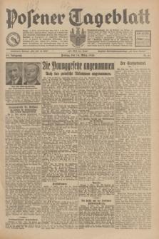 Posener Tageblatt. Jg.69, Nr. 61 (14 März 1930) + dod.