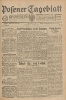 Posener Tageblatt. Jg.69, Nr. 71 (26 März 1930) + dod.