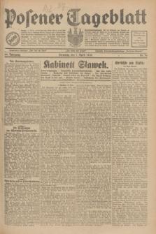 Posener Tageblatt. Jg.69, Nr. 76 (1 April 1930) + dod.
