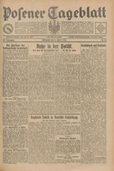 Posener Tageblatt. Jg.69, Nr. 83 (9 April 1930) + dod.