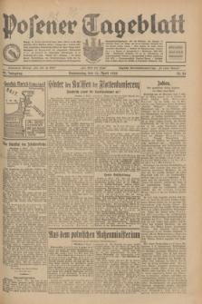 Posener Tageblatt. Jg.69, Nr. 84 (10 April 1930) + dod.