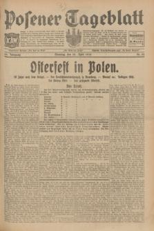 Posener Tageblatt. Jg.69, Nr. 92 (20 April 1930) + dod.