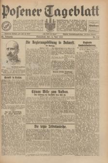Posener Tageblatt. Jg.69, Nr. 135 (14 Juni 1930) + dod.
