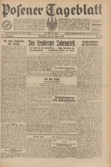 Posener Tageblatt. Jg.69, Nr. 136 (15 Juni 1930) + dod.