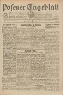 Posener Tageblatt. Jg.69, Nr. 169 (25 Juli 1930) + dod.