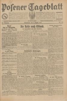 Posener Tageblatt. Jg.69, Nr. 182 (9 August 1930) + dod.