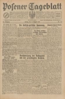 Posener Tageblatt. Jg.69, Nr. 187 (15 August 1930) + dod.