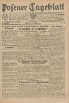 Posener Tageblatt. Jg.69, Nr. 198 (29 August 1930) + dod.