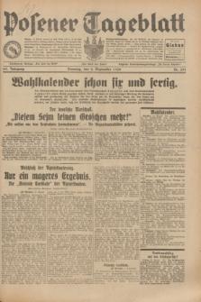 Posener Tageblatt. Jg.69, Nr. 201 (2 September 1930) + dod.