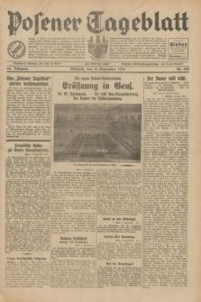 Posener Tageblatt. Jg.69, Nr. 208 (10 September 1930) + dod.