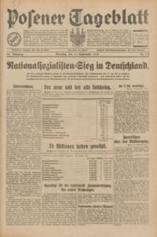 Posener Tageblatt. Jg.69, Nr. 213 (16 September 1930) + dod.