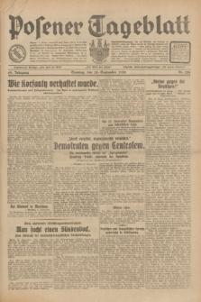 Posener Tageblatt. Jg.69, Nr. 224 (28 September 1930) + dod.