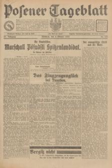 Posener Tageblatt. Jg.69, Nr. 232 (8 Oktober 1930) + dod.