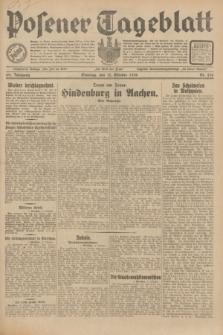 Posener Tageblatt. Jg.69, Nr. 236 (12 Oktober 1930) + dod.