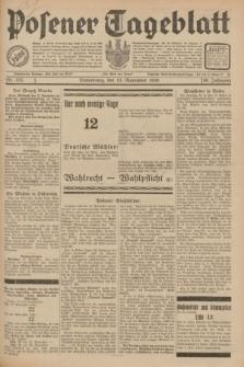 Posener Tageblatt. Jg.69, Nr. 255 (13 November 1930) + dod.