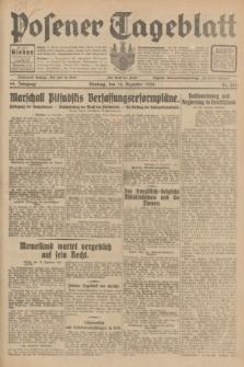 Posener Tageblatt. Jg.69, Nr. 270 (16 Dezember 1930) + dod.