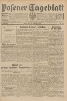 Posener Tageblatt. Jg.69, Nr. 273 (19 Dezember 1930) + dod.