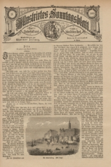 Illustrirtes Sonntagsblatt : zur Unterhaltung am häuslichen Herd. 1885, Nr. 23 ([9 Juni])