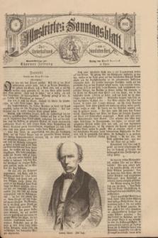 Illustrirtes Sonntagsblatt : zur Unterhaltung am häuslichen Herd. 1887, Nr. 17 ([24 April])