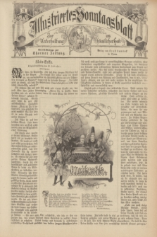 Illustriertes Sonntagsblatt : zur Unterhaltung am häuslichen Herd. 1898, Nr. 21 ([22 Mai])