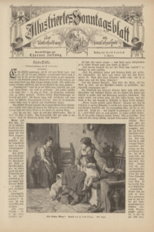Illustriertes Sonntagsblatt : zur Unterhaltung am häuslichen Herd. 1898, Nr. 22 ([29 Mai])