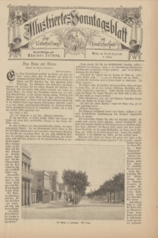 Illustriertes Sonntagsblatt : zur Unterhaltung am häuslichen Herd. 1898, Nr. 27 ([3 Juli])