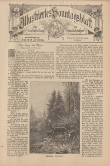 Illustriertes Sonntagsblatt : zur Unterhaltung am häuslichen Herd. 1898, Nr. 32 ([7 August])