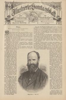 Illustriertes Sonntagsblatt : zur Unterhaltung am häuslichen Herd. 1898, Nr. 39 ([25 September])