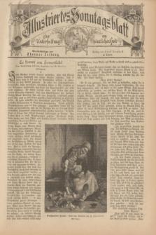 Illustriertes Sonntagsblatt : zur Unterhaltung am häuslichen Herd. 1898, Nr. 42 ([16 Oktober])
