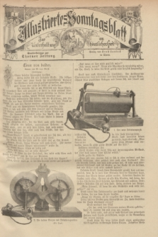 Illustriertes Sonntagsblatt : zur Unterhaltung am häuslichen Herd. 1901, Nr. 4 ([27 Januar])