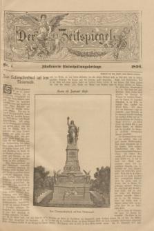 Der Zeitspiegel : illustrierte Unterhaltungsbeilage. 1896, Nr. 4 (30 Januar)