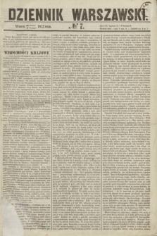 Dziennik Warszawski. 1855, № 7 (9 stycznia)