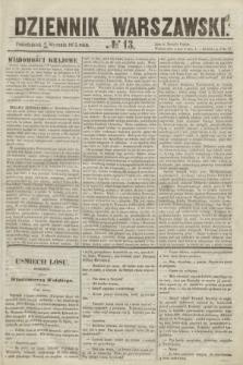 Dziennik Warszawski. 1855, № 13 (15 stycznia)