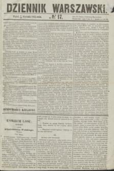 Dziennik Warszawski. 1855, № 17 (19 stycznia)
