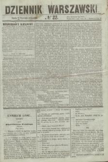 Dziennik Warszawski. 1855, № 22 (24 stycznia)
