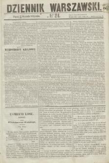 Dziennik Warszawski. 1855, № 24 (26 stycznia)